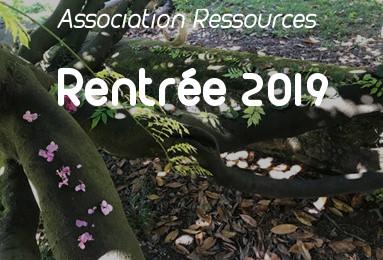 Rentrée de l'association Ressources