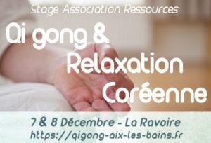 Qi gong & relaxation coréenne