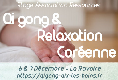 Qi gong ressources et relaxation coréenne