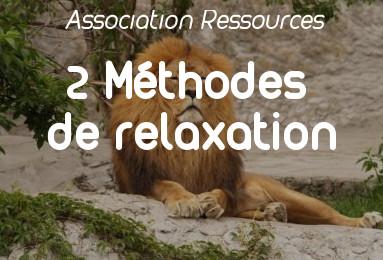 2 méthodes de relaxation pour qigong